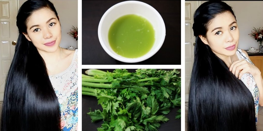Celery Juice for Shiny Hair