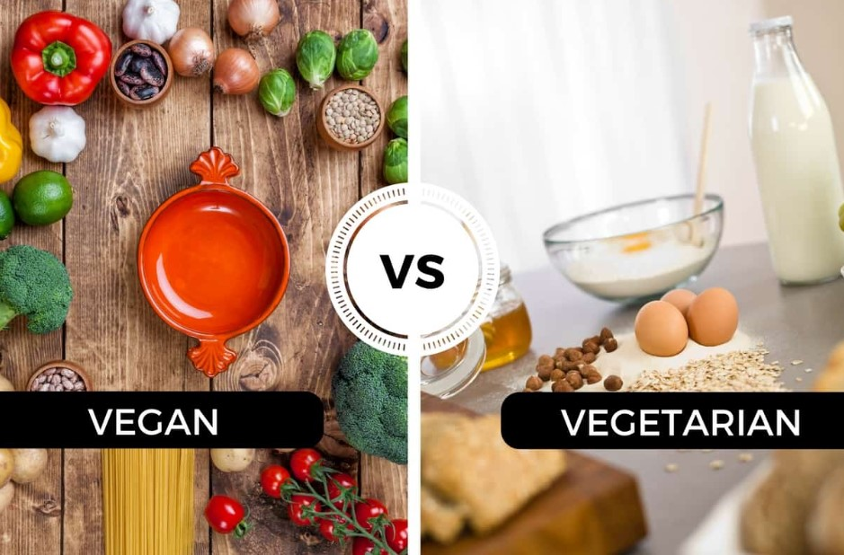 Vegetarian VS Vegan